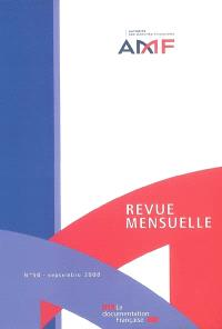 Revue mensuelle de l'Autorité des marchés financiers. n° 50