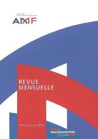 Revue mensuelle de l'Autorité des marchés financiers. n° 54