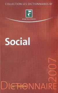 Social : dictionnaire 2007