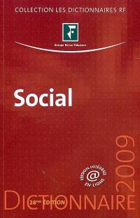 Social : dictionnaire 2009