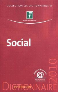 Social : dictionnaire 2010