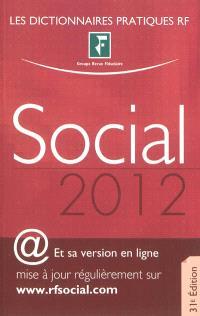 Social : dictionnaire 2012