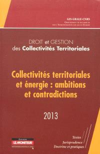 Collectivités territoriales et énergie : ambitions et contradictions