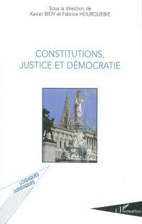 Constitutions, justice et démocratie : actes de la journée d'études de Toulouse du 2 octobre 2009