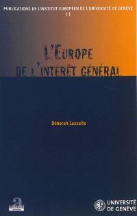 L'Europe de l'intérêt général