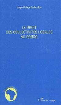Le droit des collectivités locales au Congo
