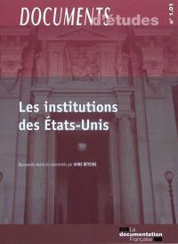 Les institutions des États-Unis