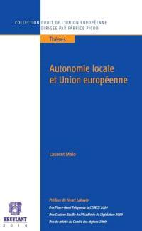 Autonomie locale et Union européenne