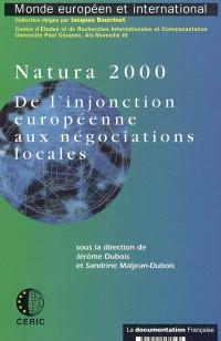 Natura 2000 : de l'injonction européenne aux négociations locales