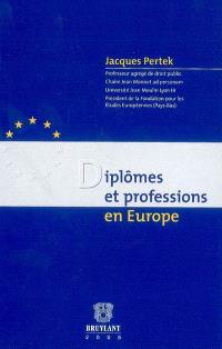 Diplômes et professions en Europe