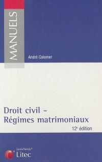Droit civil : régimes matrimoniaux