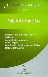 Publicité foncière : dossier pratique