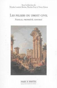 Les piliers du droit civil : famille, propriété, contrat : actes du colloque tenu à l'Université Panthéon-Assas (Paris II), les 6 et 7 juin 2013