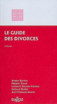 Le guide des divorces