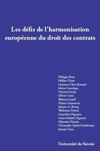 Les défis de l'harmonisation européenne du droit des contrats