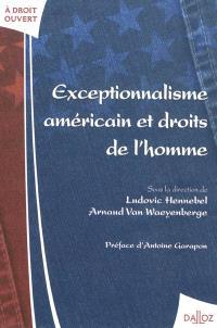 Exceptionnalisme américain et droits de l'homme