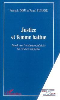Justice et femme battue