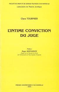 L'intime conviction du juge