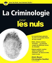 La criminologie pour les nuls