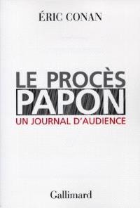 Le procès Papon : un journal d'audience