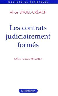 Les contrats judiciarement formés
