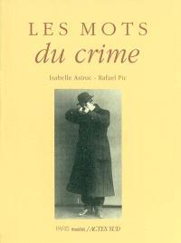 Les mots du crime