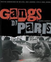 Gangs de Paris : petite chronique du milieu, des années 1970 à nos jours