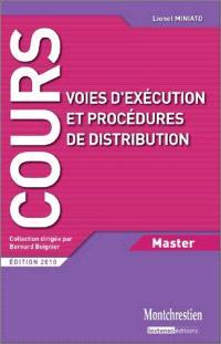Voies d'exécution et procédures de distribution