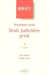 Procédure civile : droit judiciaire privé