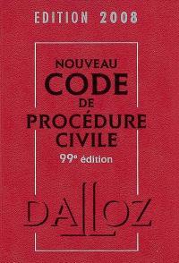 Nouveau code de procédure civile 2008