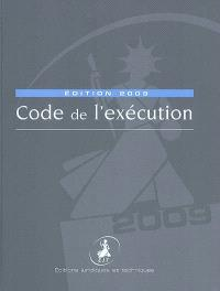 Code de l'exécution