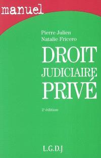 Droit judiciaire privé