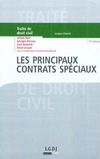 Traité de droit civil, Les principaux contrats spéciaux