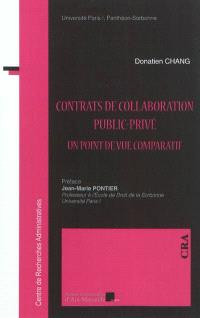 Contrat de collaboration public-privé : un point de vue comparatif