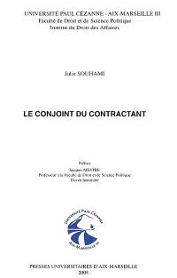 Le conjoint du contractant