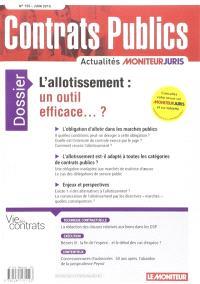 Contrats publics, l'actualité de la commande et des contrats publics. n° 155