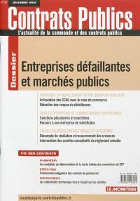 Contrats publics, l'actualité de la commande et des contrats publics. n° 127