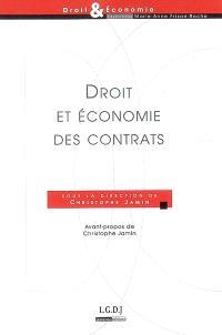 Droit et économie des contrats