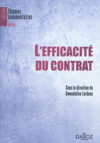 L'efficacité du contrat