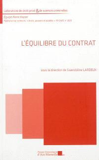 L'équilibre du contrat