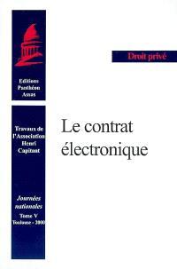 Le contrat électronique : Toulouse, 26 mai 2000