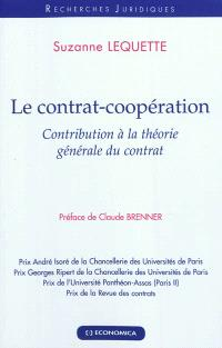 Le contrat-coopération : contribution à la théorie générale du contrat