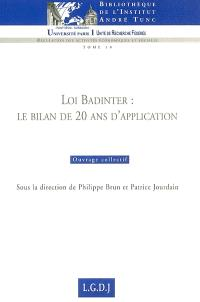 Loi Badinter : le bilan de 20 ans d'application