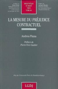Mesure du préjudice contractuel