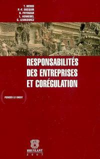 Responsabilités des entreprises et corégulation
