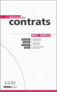 Revue des contrats. n° 2 (2009)