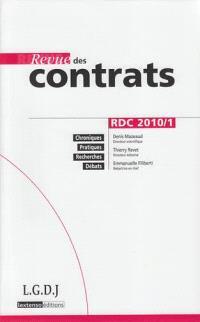 Revue des contrats. n° 1 (2010)
