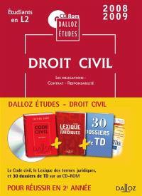 CD Rom Dalloz Etudes droit civil 2e année 2009