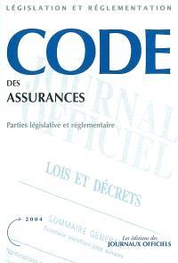 Code des assurances : parties législative et réglementaire