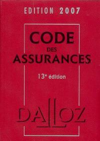 Code des assurances 2007